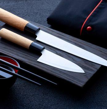 Japanese kitchen knives
