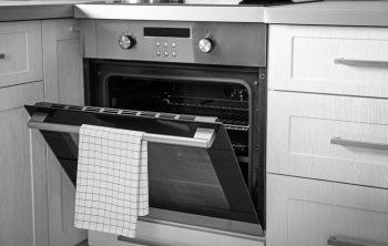 slide in electric range oven
