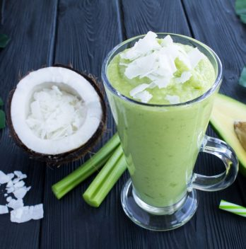 coconut milk avocado smoothie