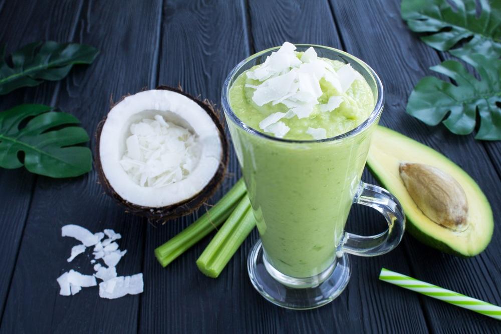 coconut milk avocado smoothie