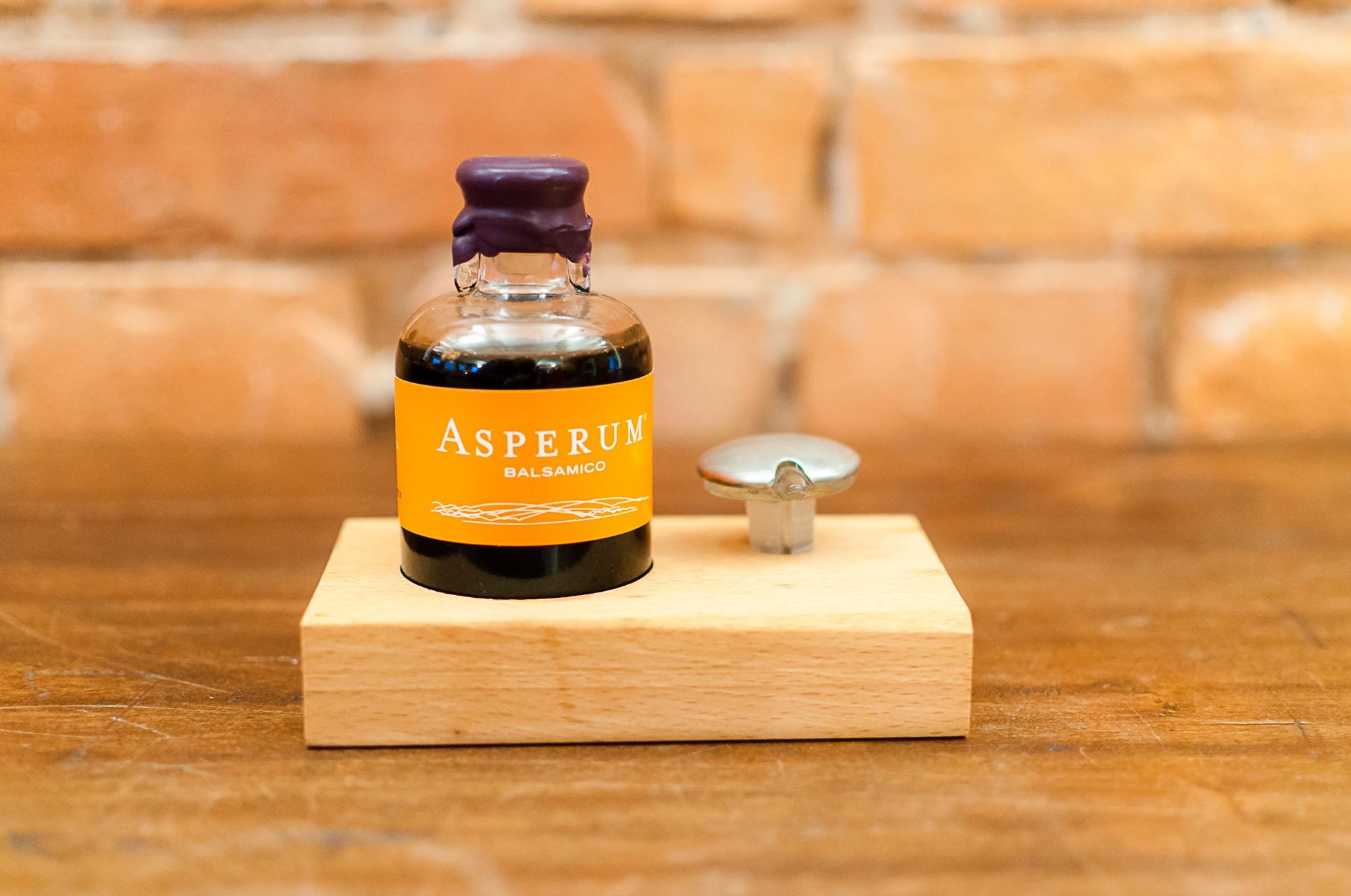 balsamic vinegar called Asperum